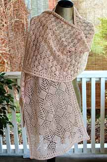 Arachne's Bower Shawl
