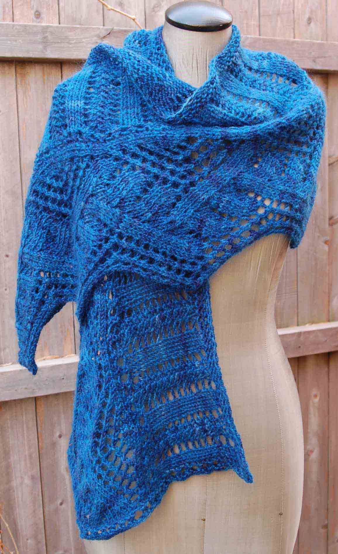 Mountain and Plains Shawl