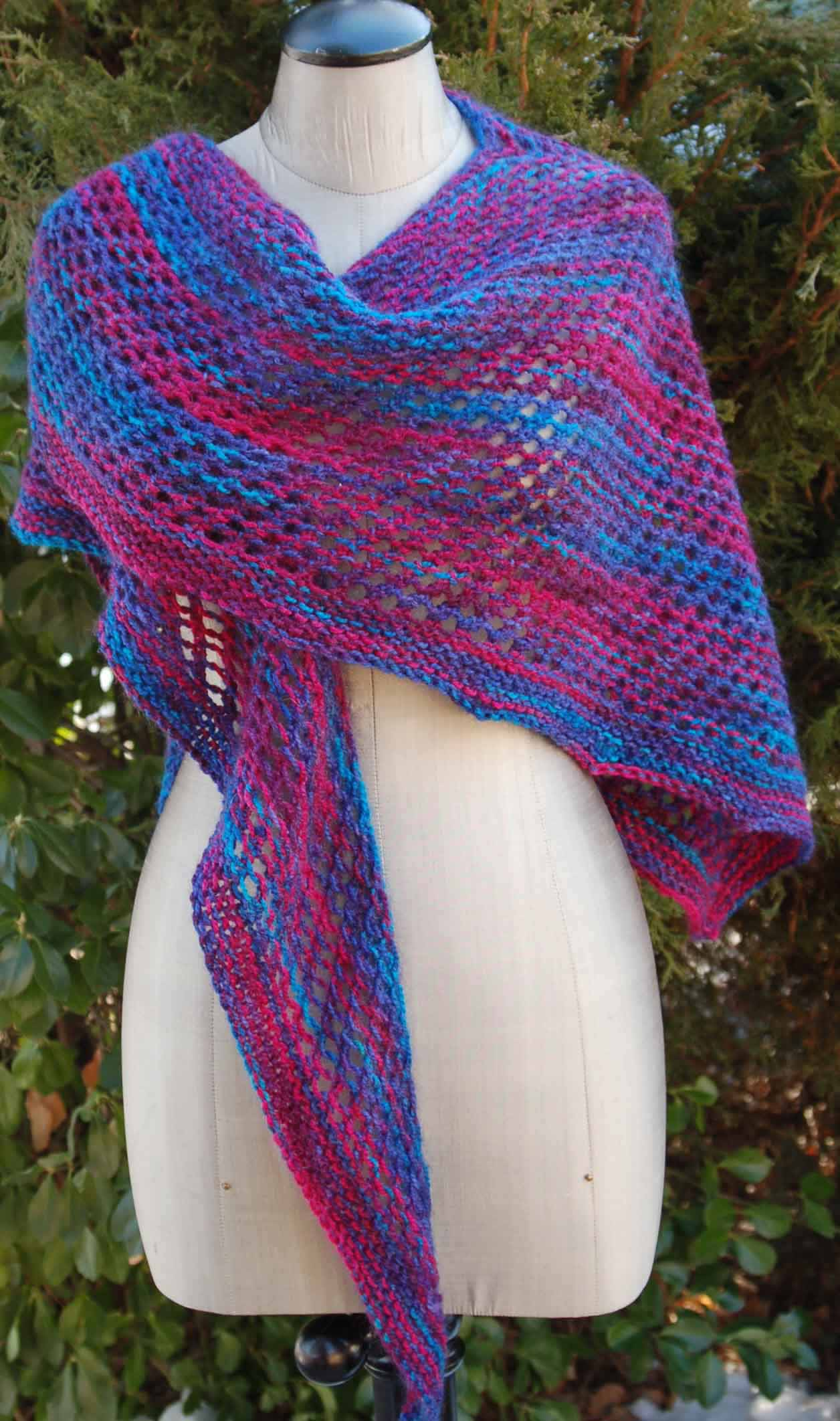 Wishbone Shawl